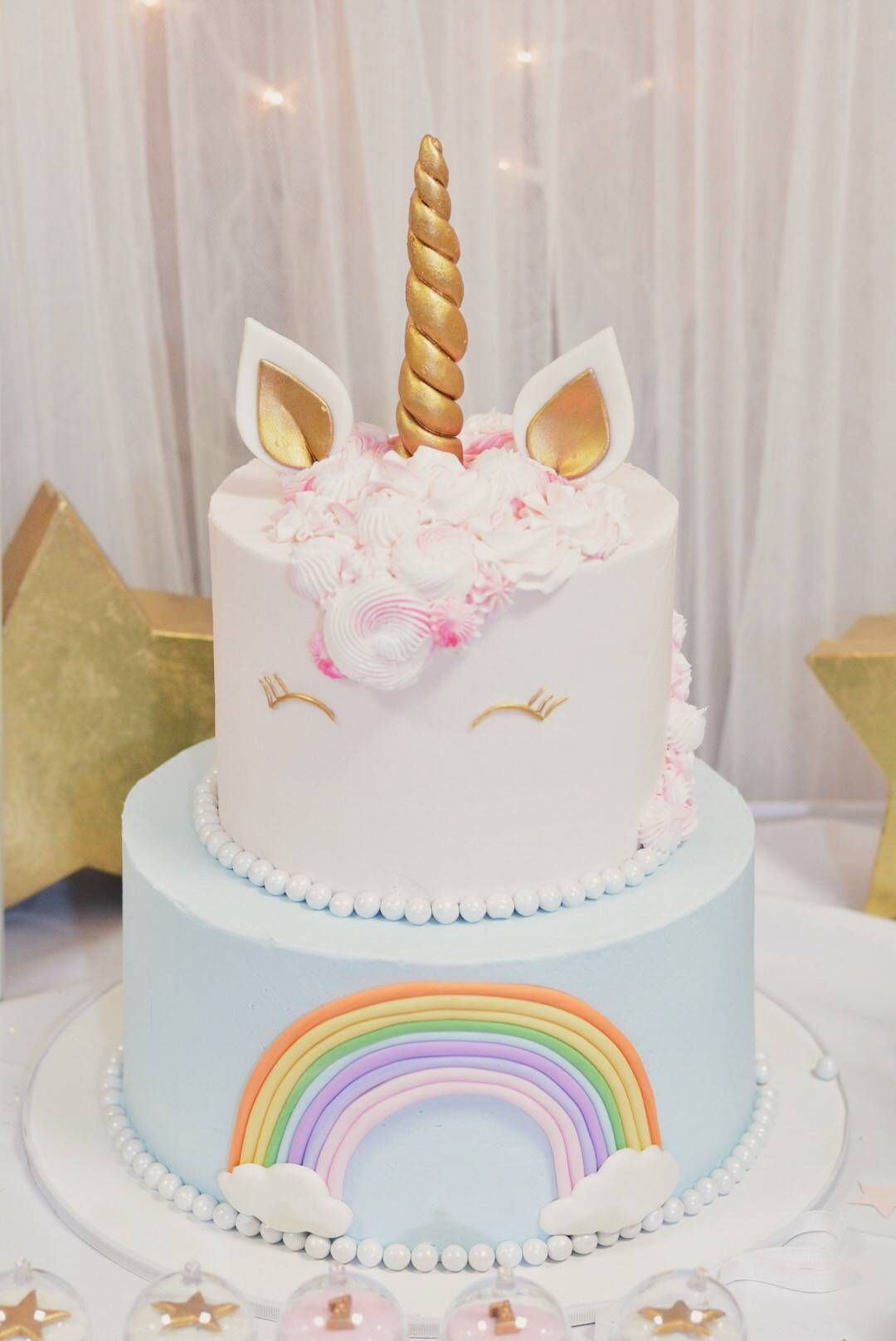 Sophia S Unicorn Birthday Party Amp Cake