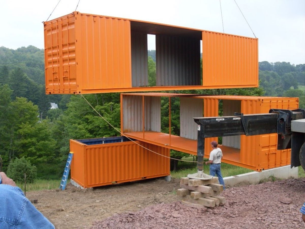 prefab shipping container house in shipping containers houses