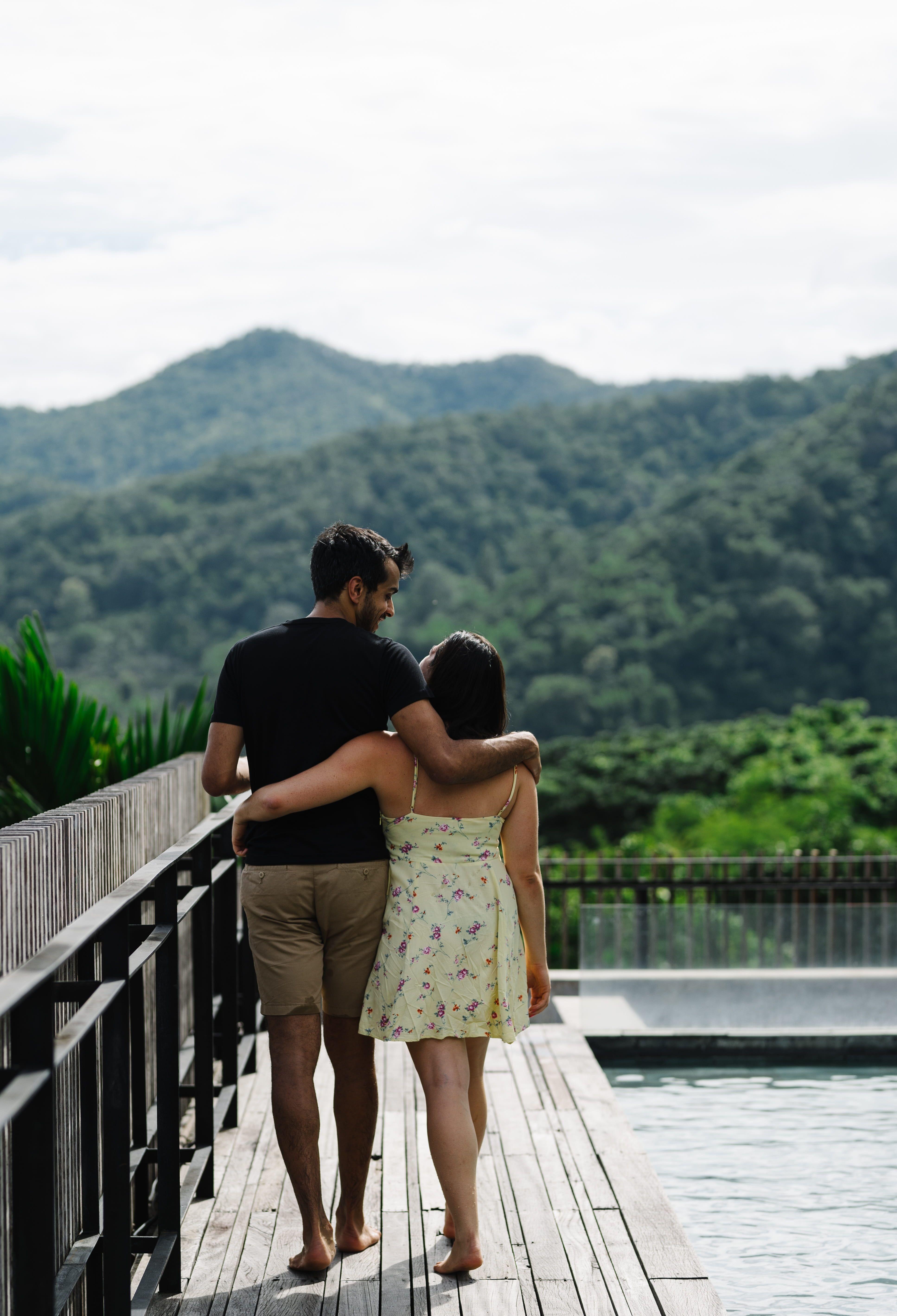 Team Building Indian Wedding Couple Romance Mountains Scenery Nature Couples Traveling Coup Popular Honeymoon Destinations Couples Honeymoon Destinations