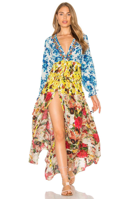 3182765babc ROCOCO SAND Maxi Dress in Romantic Floral