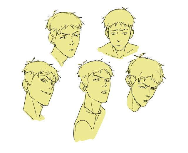 Lance with an undercut is basically just Jean Kirstein (jeanrydeart on tumblr)