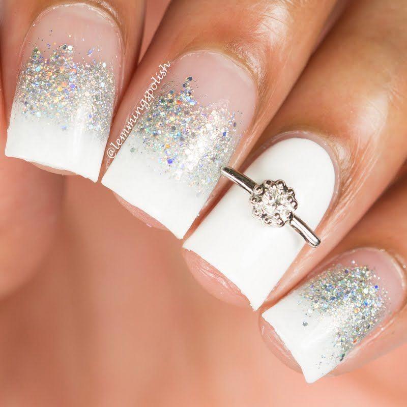 wedding nails for brides #weddingdaynails | Wedding nails ...