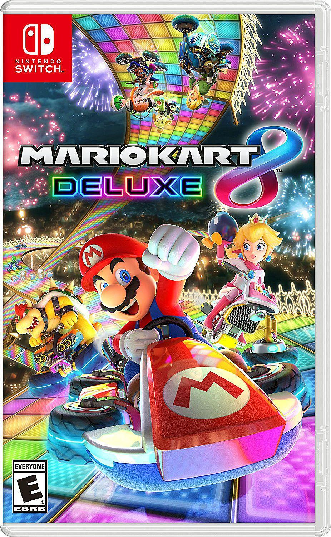 Nintendo Switch Mario Kart 8 Deluxe Video Game 045496590475 In 2021 Nintendo Mario Kart Nintendo Switch Games Mario Kart