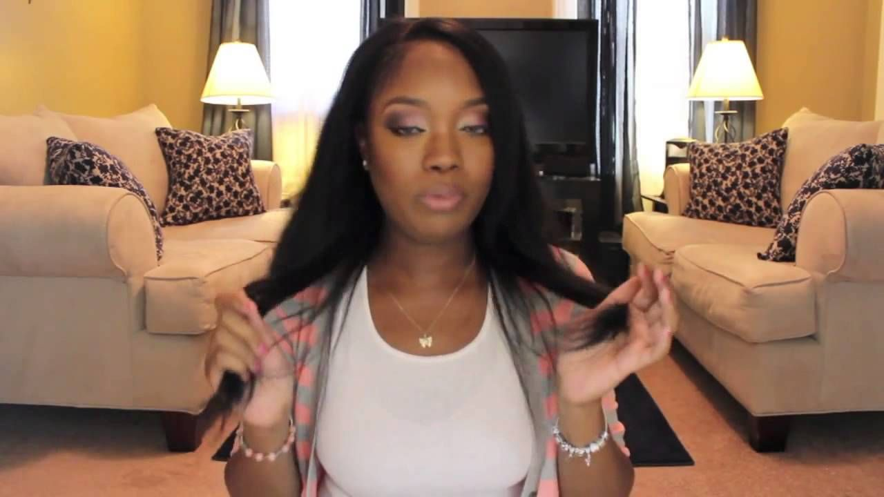 Natural Black Clip In Hair Extensions For Black Women