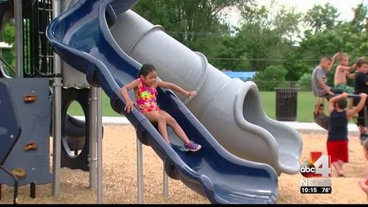 Cottonwood Heights Closing Down Slides At Mountview Park Due To Possible Burn Dangers Cottonwood Heights Shade Structure School Playground
