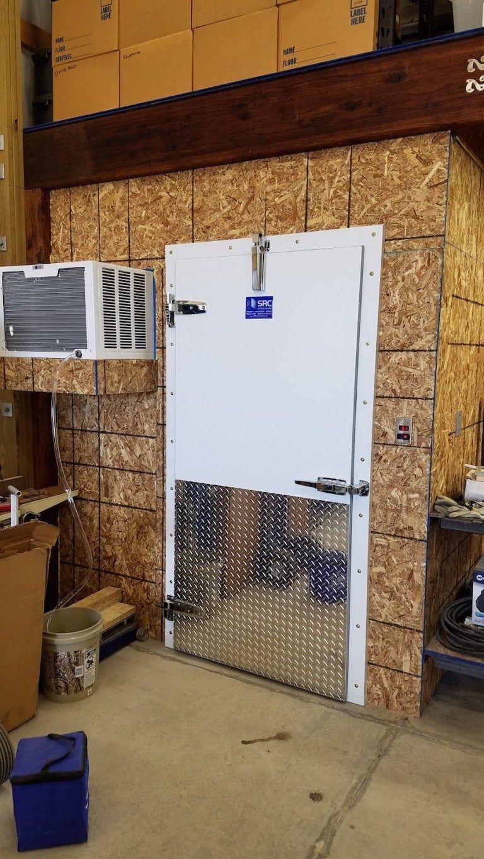 How jason lyman built a professional walkin meat locker
