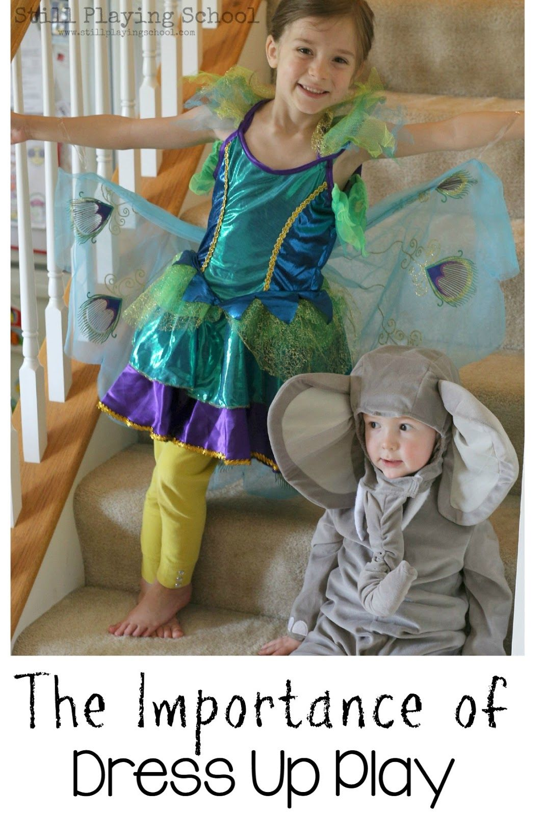 The Importance of Everyday Dress Up Play in Preschool and at Home for Kids from Still Playing School