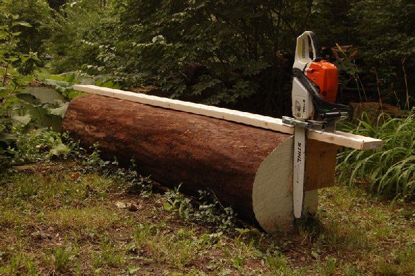 How to make a chainsaw mill google search tools