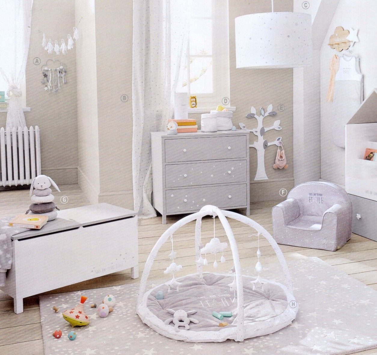 maison du monde. catalogue 2017/2018. junior | baby rooms and things