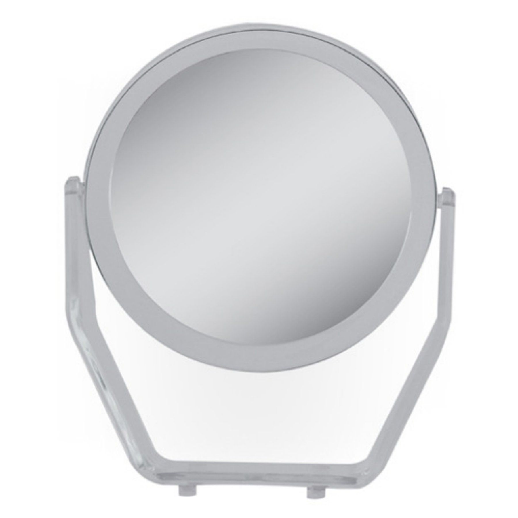 Zadro 8 5 In 5x 1x Swivel Acrylic Vanity Mirror Zv08