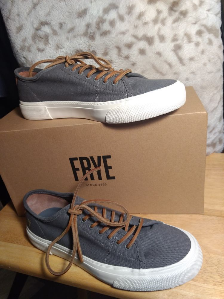 8c0817bb516 Frye Ludlow Cap Low Lace Men s Sneaker SZ 10M  fashion  clothing  shoes