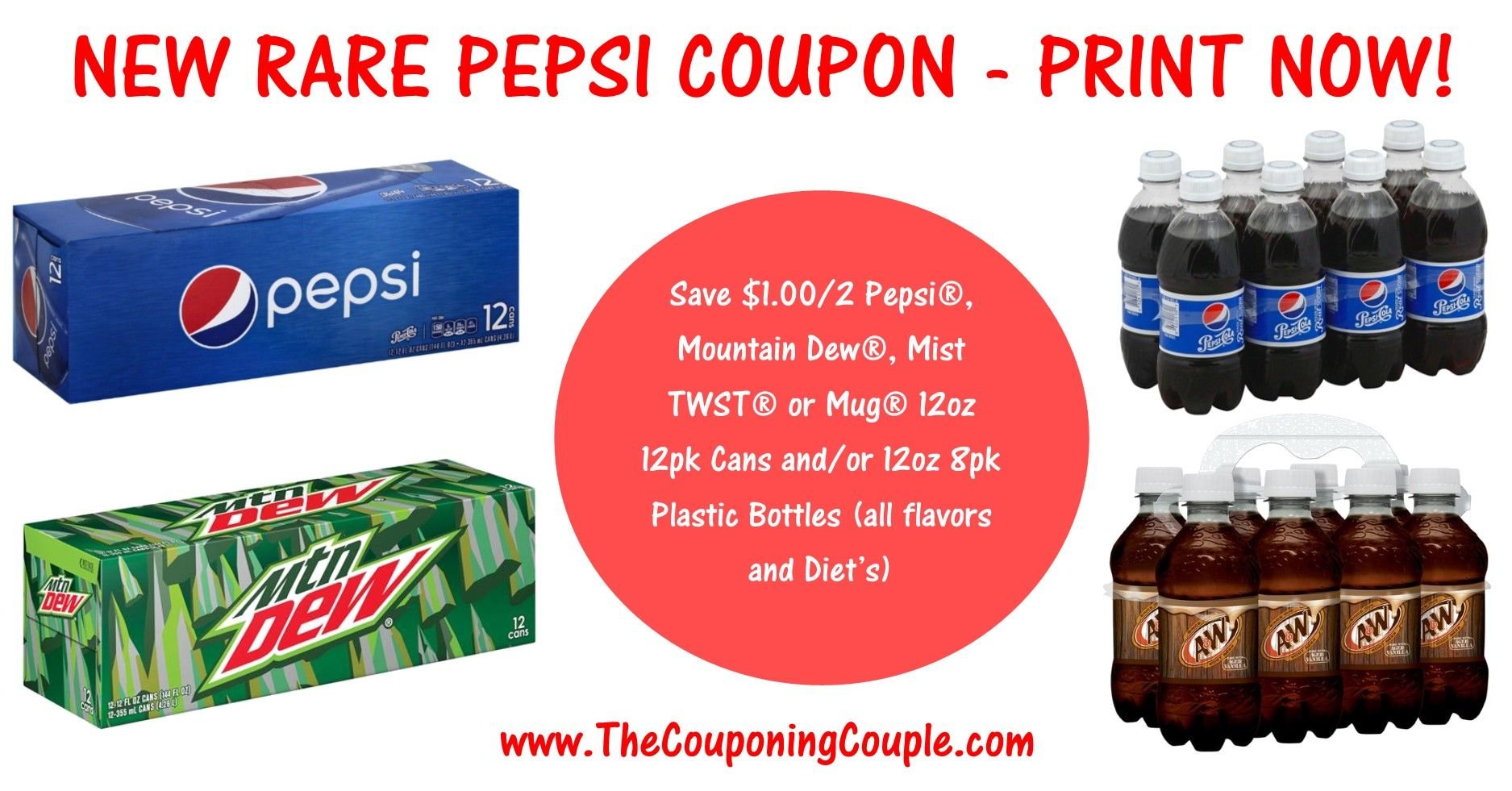 picture about Pepsi Printable Coupons titled Fresh new** Uncommon Pepsi Printable Coupon ~ PRINT At present! Retail store Commercials