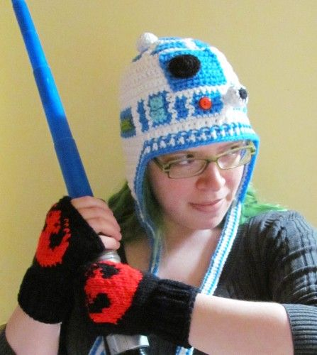 571fc1d28e8 Star Wars Storm Trooper Crocheted Earflap Hat made to order all sizes