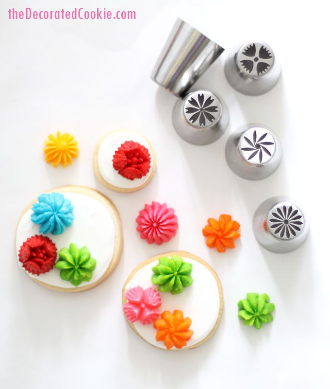Cake Decorating Ideas Step By Step : flower decorating tips Cake cookies and Cake