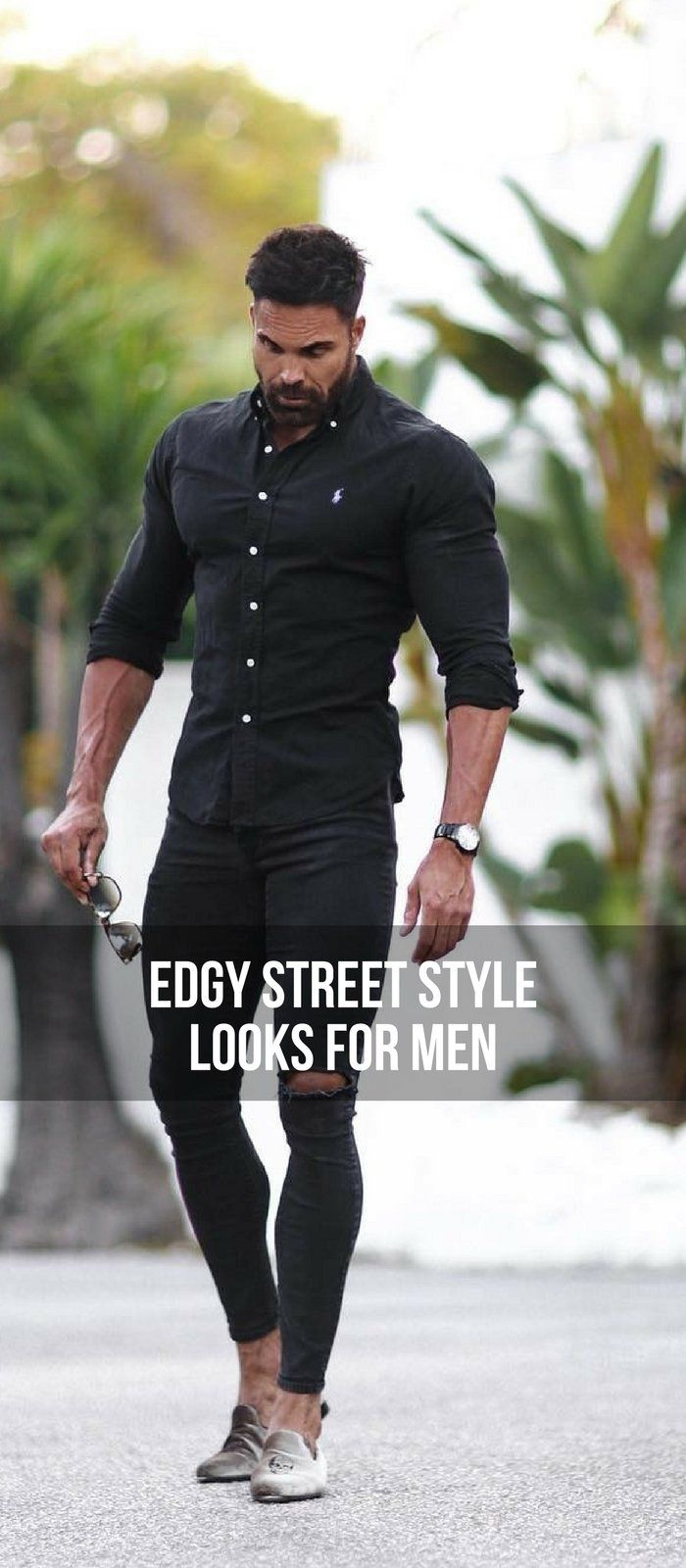 edgy street style looks to help you dress sharp menus fashion