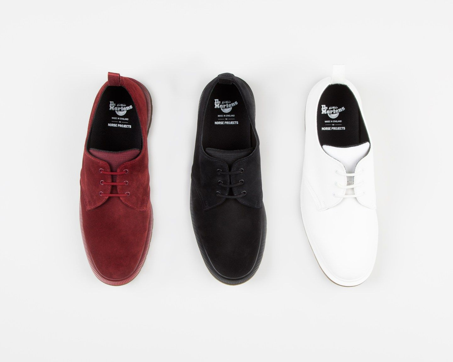 f44514f423d5 Dr. Martens X Norse Projects Collaboration  the re-invented 3-Eye Steed  Shoe