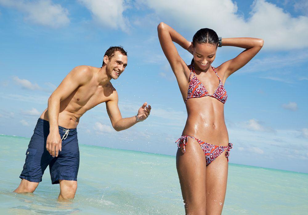 Beach pics bikini buut