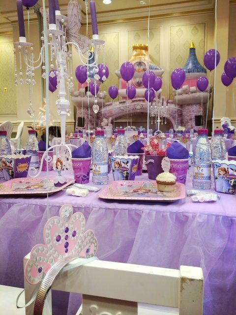 Decoraci n de princesa sofia fiesta pinterest - Ver decoraciones de salones ...