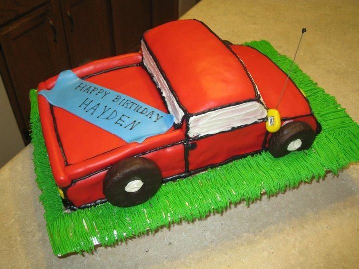 Pick Up Truck Cake Truck Birthday Cakes Tractor Cake Truck Cakes
