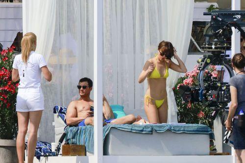 The Stir-New 'Fifty Shades' Set Photos Show a Bikini-Clad Dakota & Shirtless Jamie