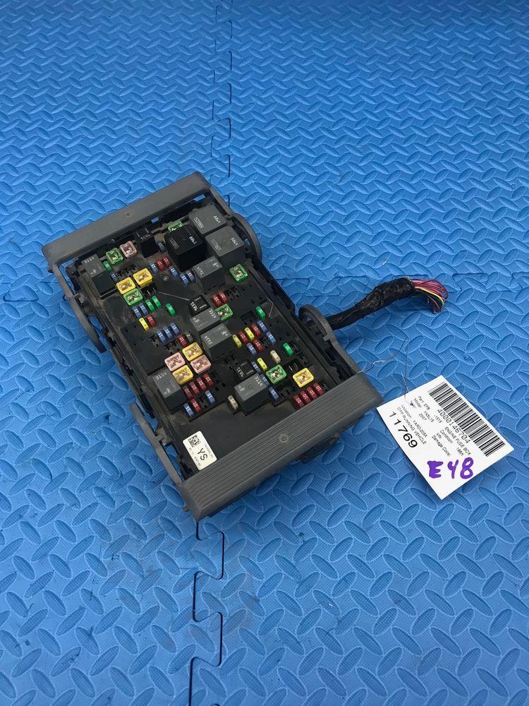 gm gmc truck part wire wiring junction fuse block relay panel box rh pinterest com  1979 gmc truck fuse box