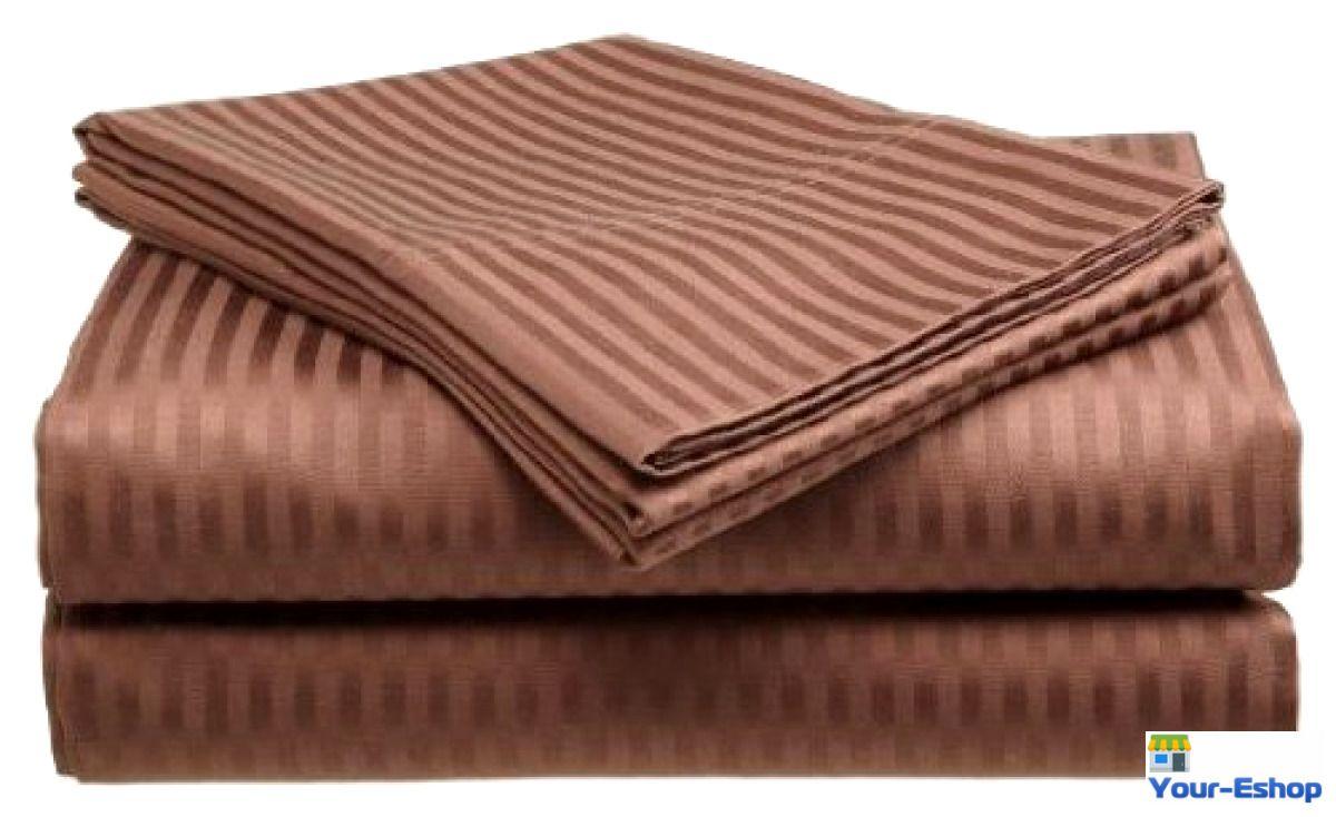 Bed sheet set 100 cotton sheets king size deep pocket