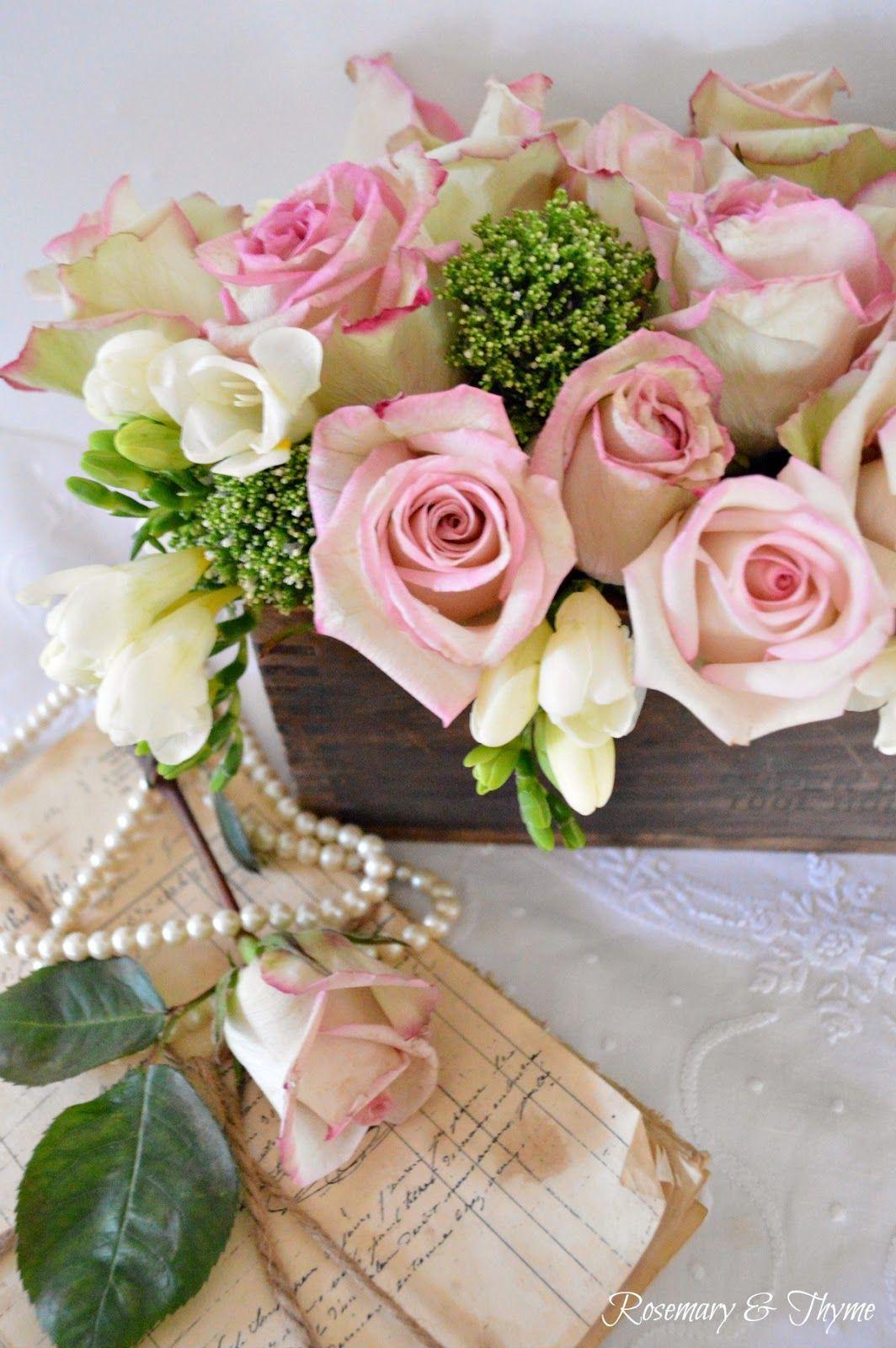 Wood Box Rustic Floral Arrangement Tutorial Interior Decorating
