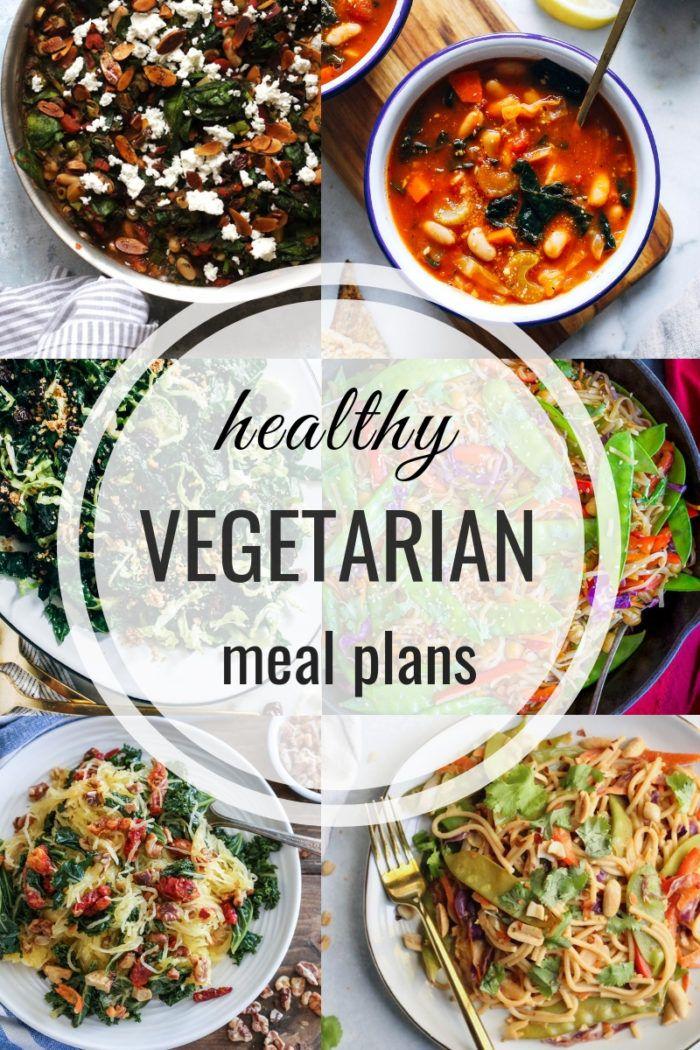 Healthy Vegetarian Meal Plan 12.02.2018 images