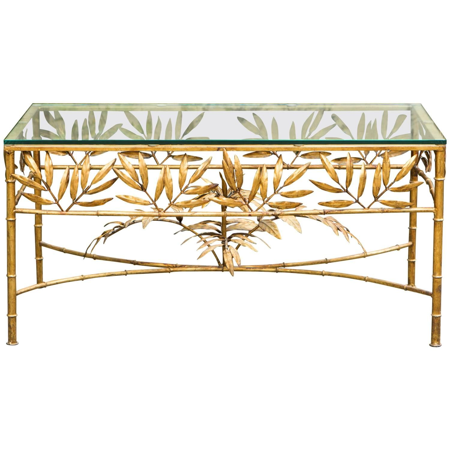 French Gold Plated Faux Bamboo Coffee Table 1stdibs Com Bamboo Coffee Table Faux Bamboo Table [ 1500 x 1500 Pixel ]