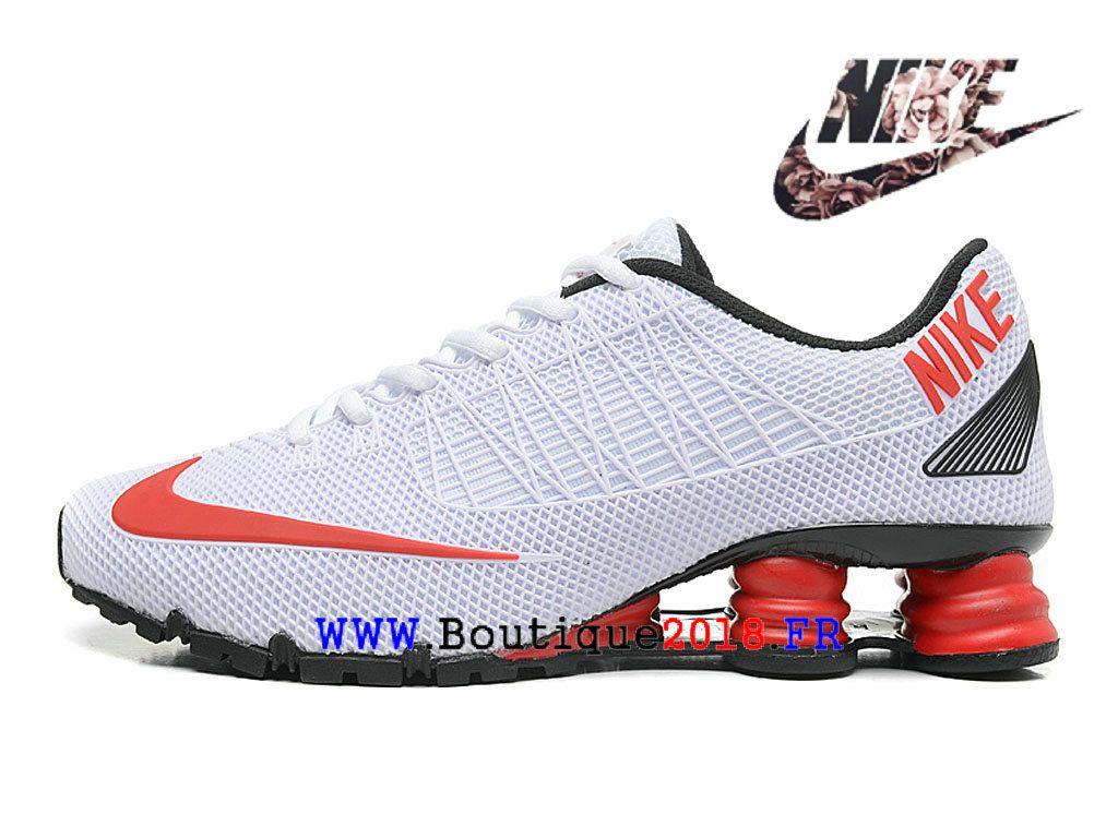 b13415ab08b072 Nike Shox 125 Deliver Chaussure de Nike Running Pas Cher Pour Homme Blanc /  Noir / Rouge-1803200374-Nike Boutique de Chaussure Baskets Site Officiel ...