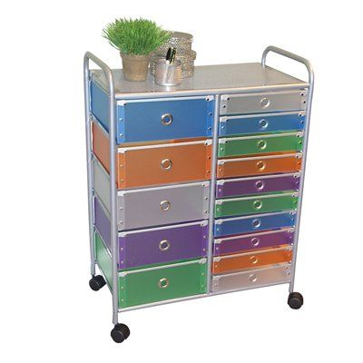Want The Perfect Storage Unit? This 15 Drawer Rolling Cart Can Add That  Needed Storage