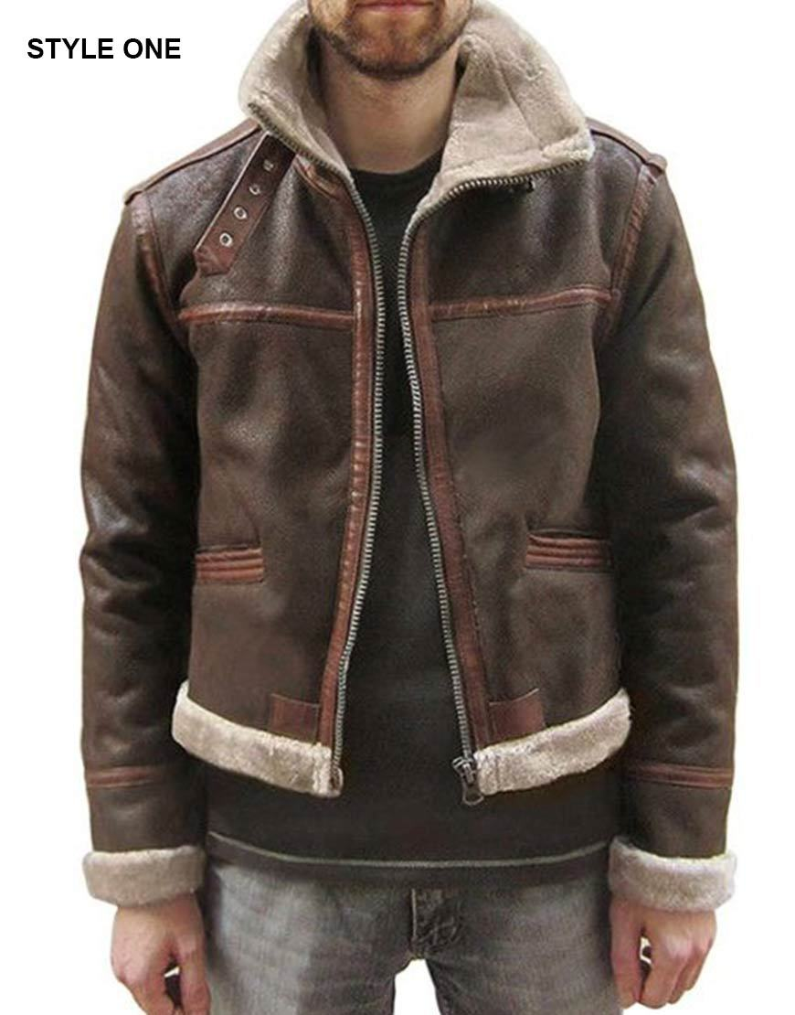 Resident Evil 4 Leon Scott Kennedy Real Leather Jacket