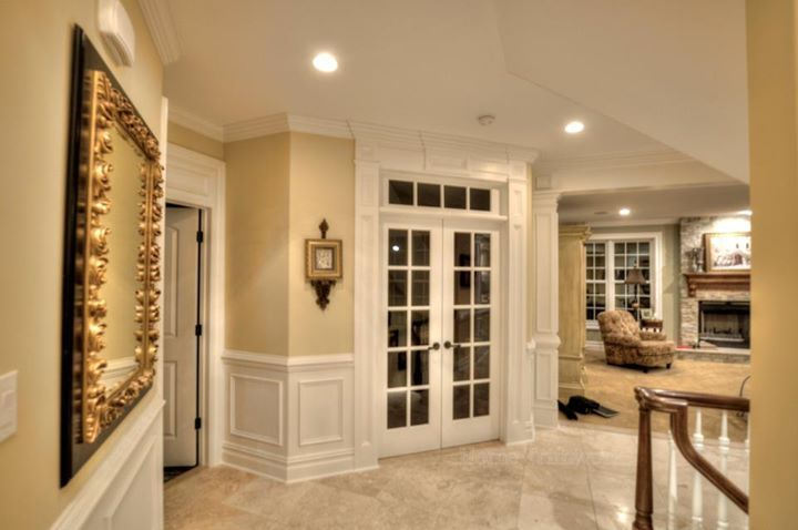 Trim Detail How To Bring Out Your Home S Character With Trim French Doors With Transom With Decor French Doors French Doors Interior Interior Doors For Sale