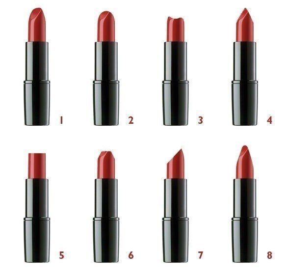 Personality types thru lipstick shapes
