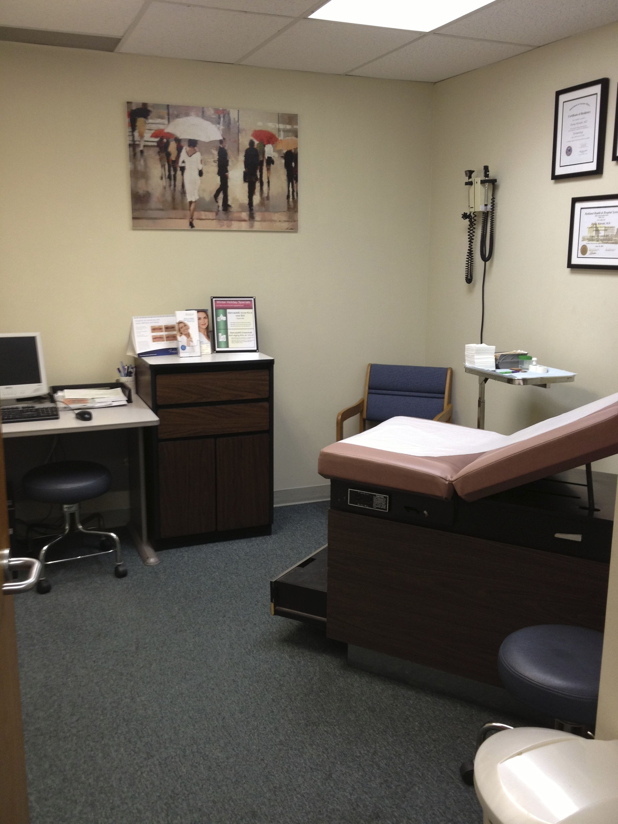 Exam Room 3- Encino-Tarzana | BHSkin | Locations