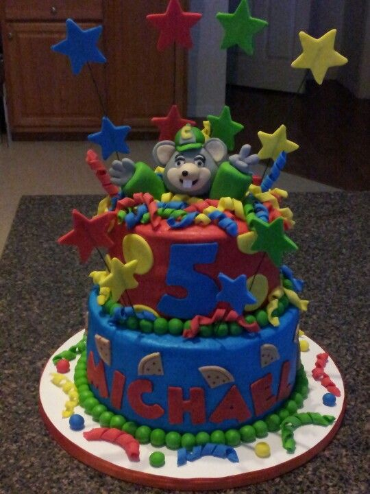Chuck e cheese cake My Creations Pinterest Cheese cakes