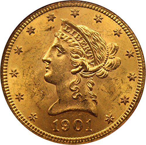 1901 P 10 Liberty Gold Ten Dollar Ms64 Ngc You Can Find More Details By Visiting The Image Link This Amazon Pins Is An Affiliate Coin Store Gold Coins Ngc