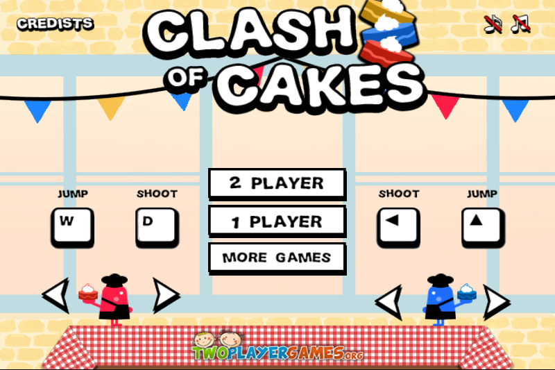 CLASH OF CAKE More games, Games, Player 1