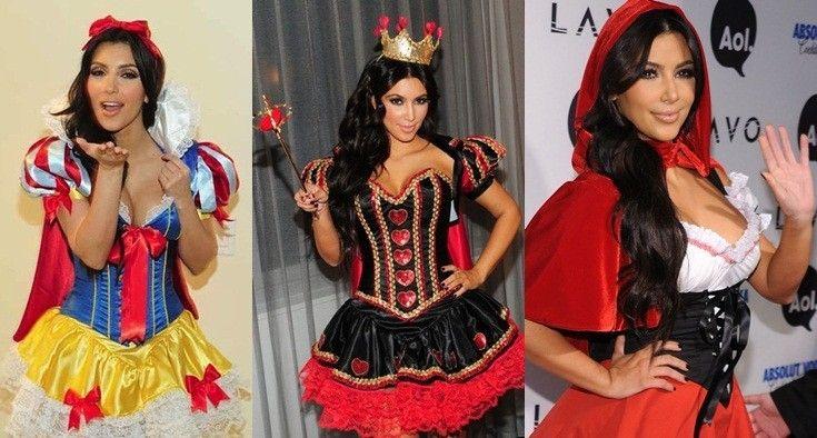disfraz de halloween de kim kardashian