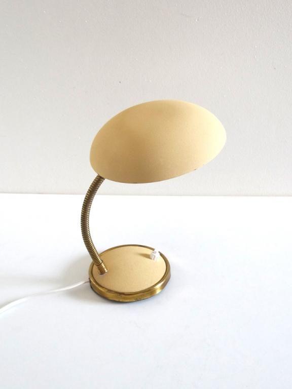Lampe De Bureau Annees 50 Beige