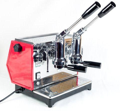 Ponte Vecchio Lusso 2 Dual Group Lever Espresso Machine Classic Club Design Espresso Coffee Machine Espresso Coffee Blog