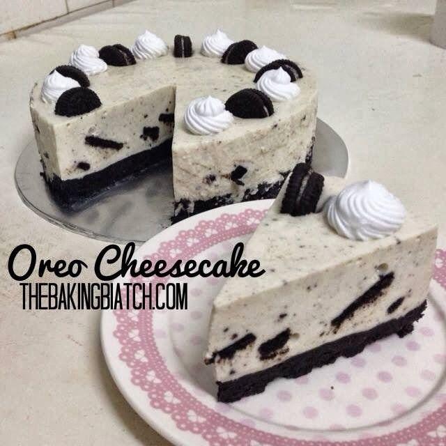 The Baking Biatch ♥: Cynthia's Oreo Cheesecake