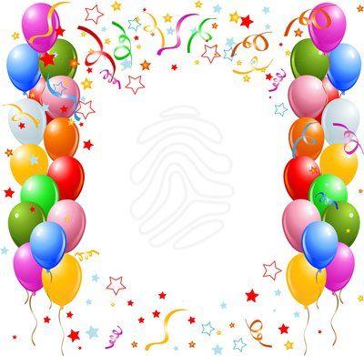 21++ 50th birthday border clipart information