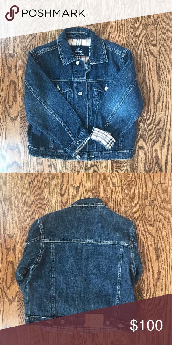 Burberry denim jacket for boys