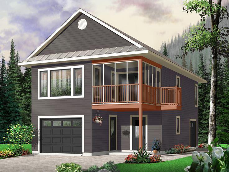 Garage Apartment Plan, 027G-0003   Curb Appeal   Pinterest ...