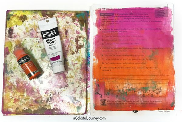 What you need to get started gel printing tutorial by Carolyn Dube and downloadable guide too!