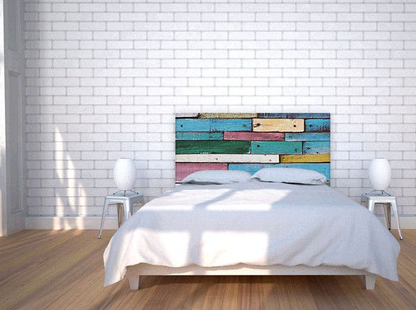 Colorful Wood Headboard   Custom Headboards   NOYO Home