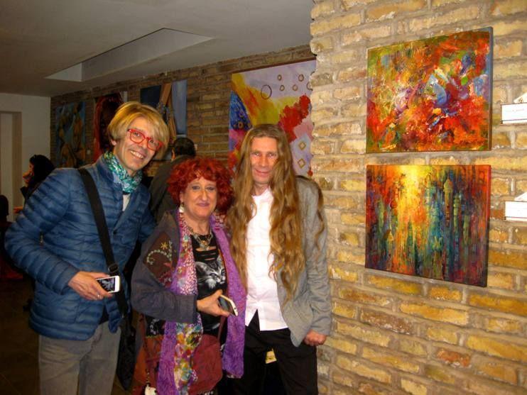 październik  2015r...Wystawa w Domiziano, Piazza Navona, Rzym.....KRZYSZTOF ŁOZOWSKI...FINE ART PROFESSIONAL....