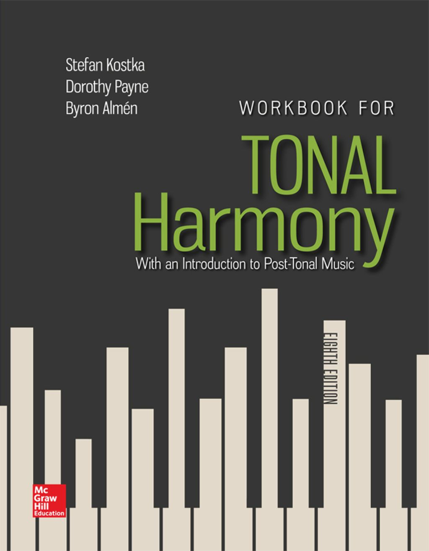Workbook for Tonal Harmony (eBook Rental) in 2020 | Tonal ...