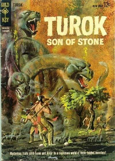 Turok, Son of Stone #31 - Valley of the Dangerous Dreams / Prey of the Cave Monster